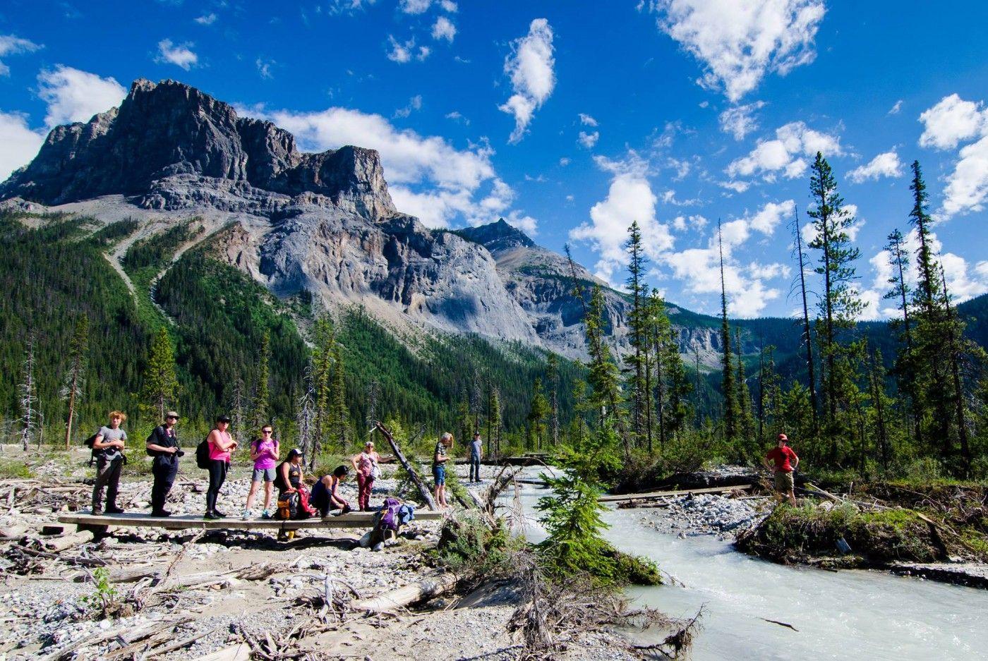 Yoho national park wandern kleine gruppen wandern in den rocky mountainszoom image