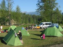camping, tents, small group travel, canada