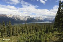 jasper, national, park, alberta, canada, mountains