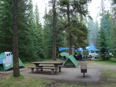 camping, jasper, national park, canadian