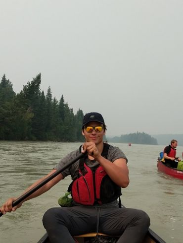 Garrett, guides, tour guides, german, canoe