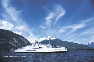 ferries from vancouver Island to british columbia west coast, Canada