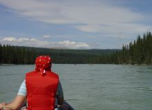 canada, athabasca, trips, tour, canoes