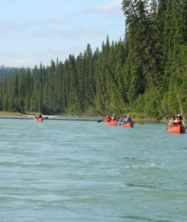 Mountain River Canoe Adventure, K5, 5 days