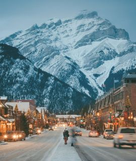 Winter holiday in the Rockies, S