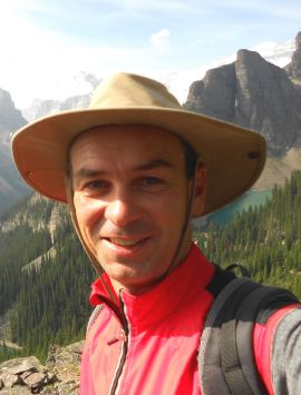 Anthony Gevaert, tour guide, canada