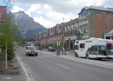 Banff, national park, round trip