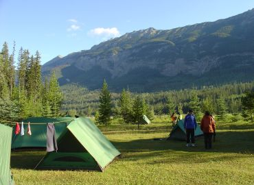Camping vacations and tours in Canada