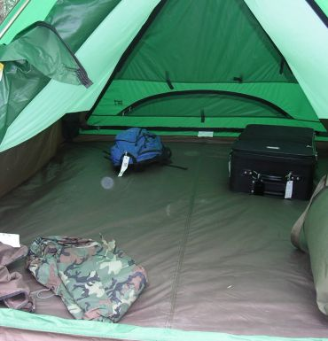 camp in tent, camping tour, canadian rockies, canada