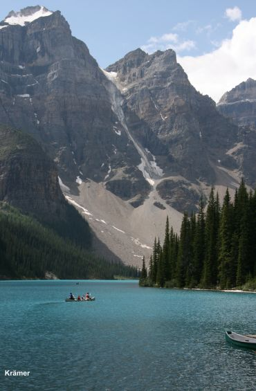 Moraine Lake in the Canadian Rockies, Banff, Alberta